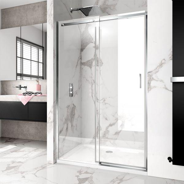 Vision 8mm 1100mm Frameless Sliding Shower Door