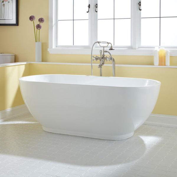 Esposito 1700 X 800 Free Standing Nth Bath White