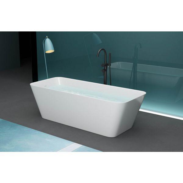 Bella Solid Surface Stone Resin Modern Freestanding Bath 1700 x 700