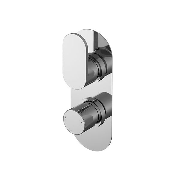 Binsey Twin Concealed Thermostatic Shower Valve
