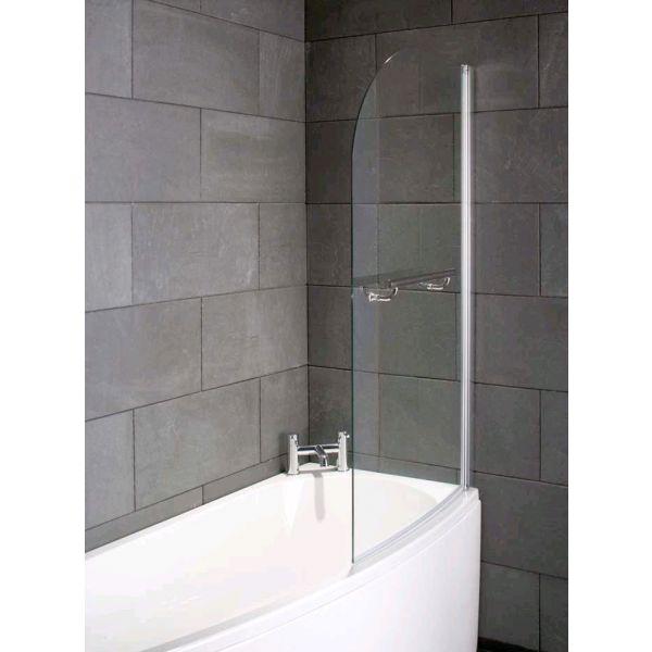 Compact Bath Screen Right Hand