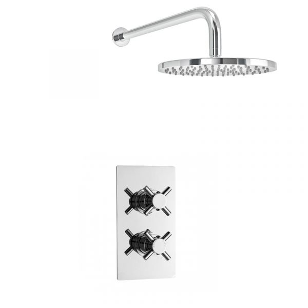 Cloudburst Dual Concealed Thermostatic Shower Pack