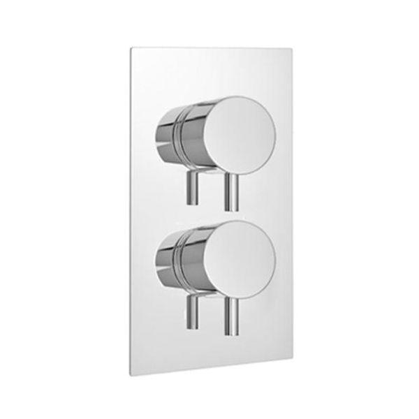 Plan Dual Control Concealed Shower Valve Round