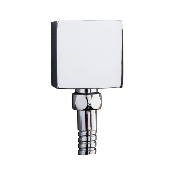 Trend Square Wall Outlet Chrome