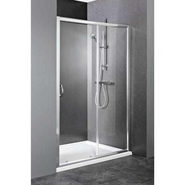 Elle Sliding Shower Door Enclosure 1200mm