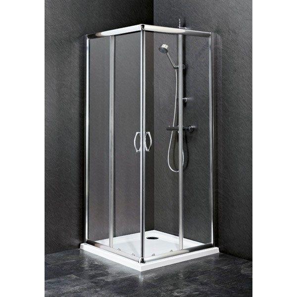 Ginelle Corner Entry 800mm Shower Enclosure