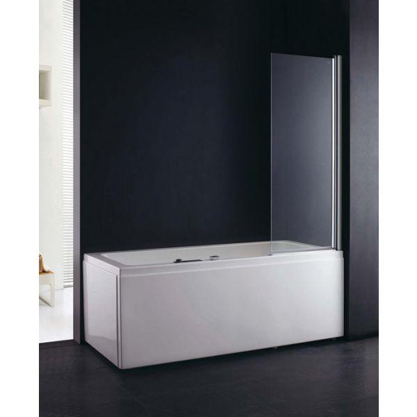 Fortuna 600mm Single Bath Shower Screen
