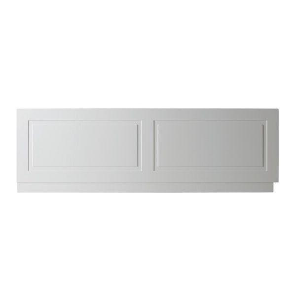 Astley 1700mm Matt White Traditional Front Bath Panel