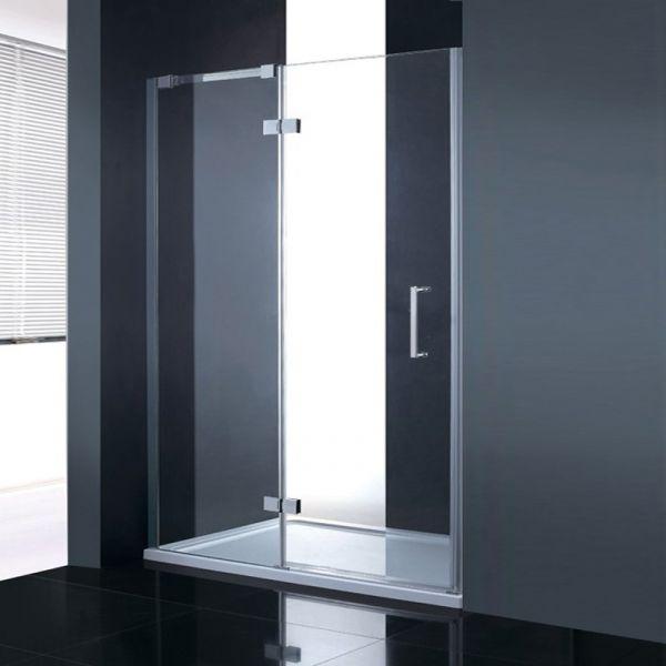 Fortuna Elite 8mm Frameless Hinged Shower Door Enclosure 1200mm