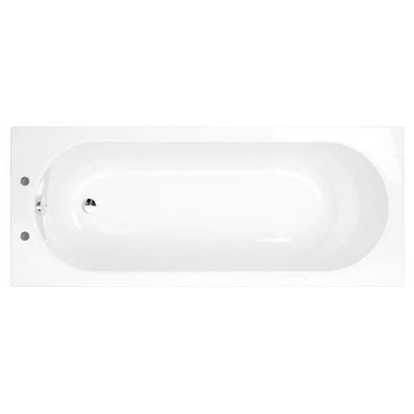 Felix 1400 x 700 Single Ended 2 Tap Hole Bath