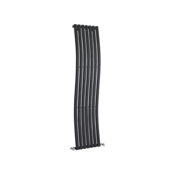 Wave Designer Vertical Radiator 1785mm H x 413mm W Anthracite