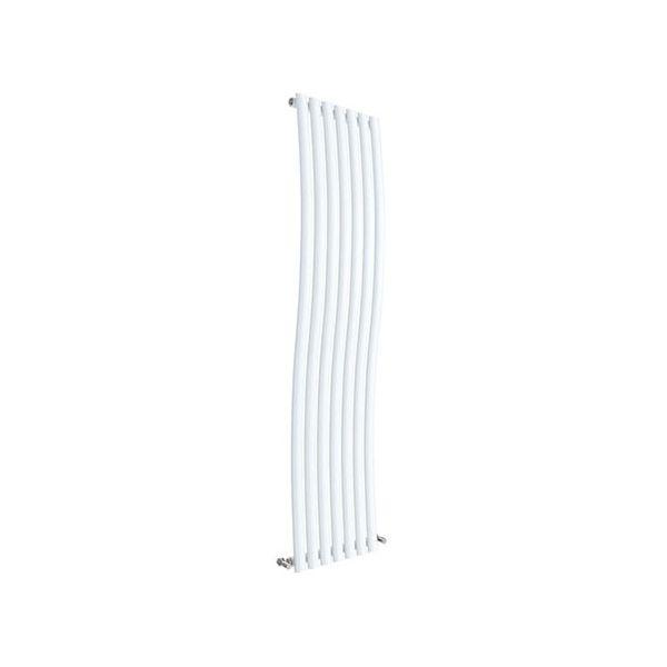 Wave Designer Vertical Radiator 1785mm H x 413mm W White