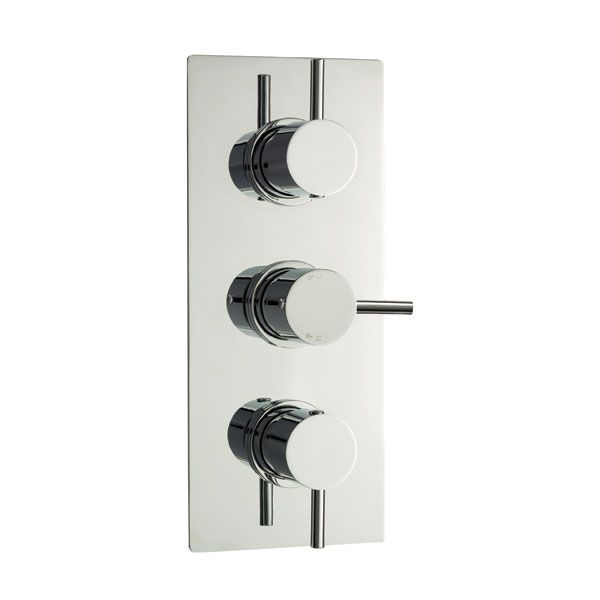 Triple Concealed Thermostatic Shower Valve