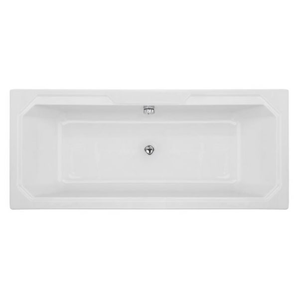 Traditional Victorian Style 1800 X 800 Double Ended White Bath