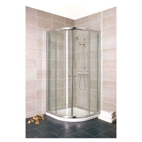 Madrid 900 x 900mm Shower Enclosure Inc Tray