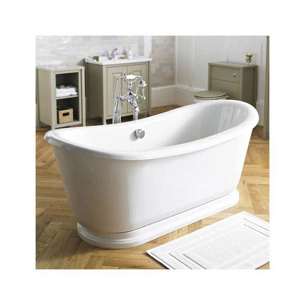Greenwich 1740 x 800mm Roll Top Slipper Bath