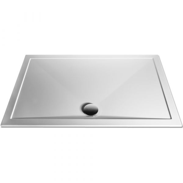 TrayMate Anti-Slip TM25 Elementary Rectangular Shower Tray 1200mm x 900mm - White