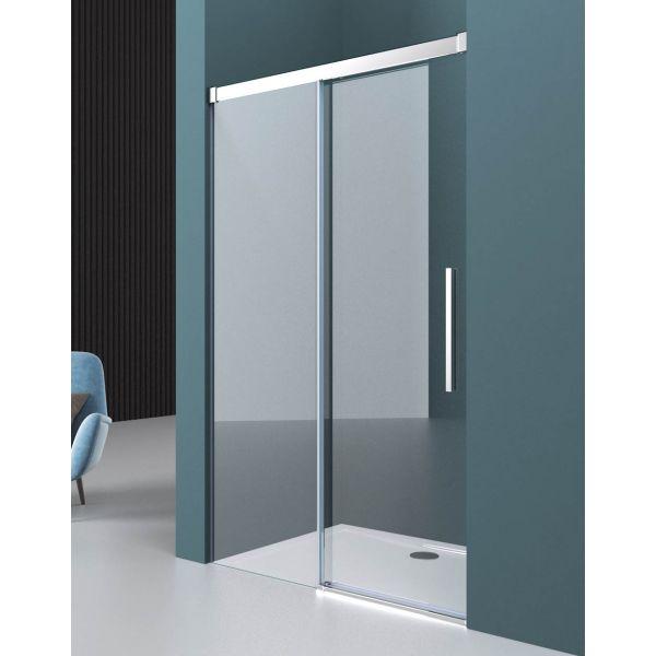 Modena Design 8 Frameless 8mm Soft Closing Sliding Door 1100mm