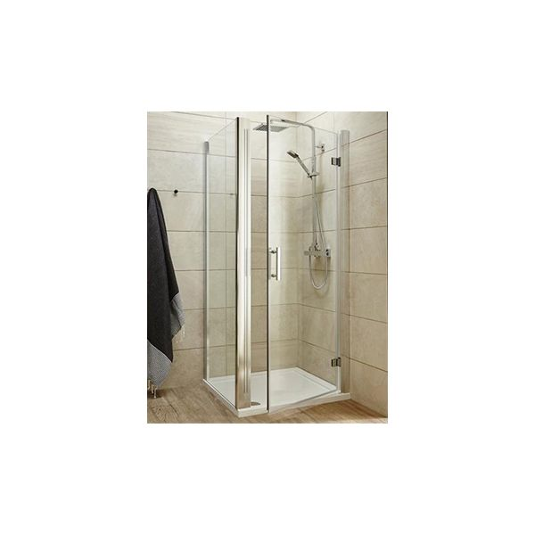 Ultra Pacific Frameless Hinged Shower Door 900mm