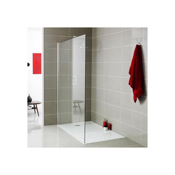 1200mm Wetroom Panel 8mm 1850mm