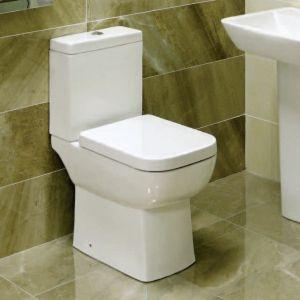 Zero Close Coupled Comfort Height Toilet