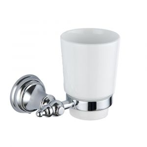 Traditional Tumbler Holder and Glass