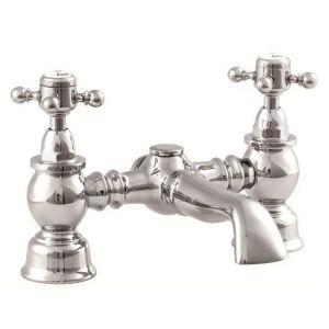 Balmoral Bath Filler chrome