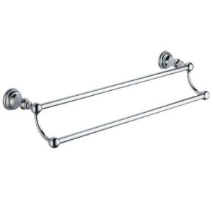 Traditional Double Towel Bar