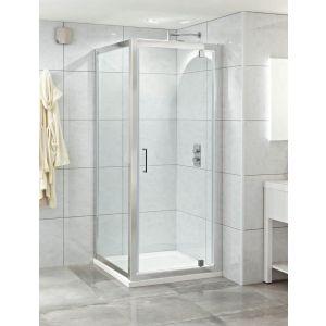 Style 1000 Pivot Door Shower Enclosure Chrome
