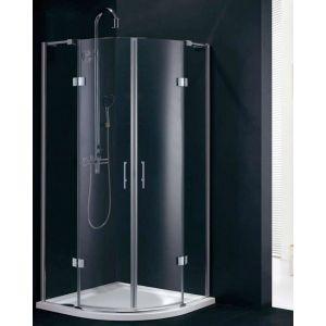 Fortuna 900 x 900 Frameless Quadrant Shower Enclosure
