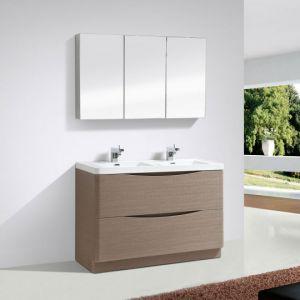Double Basin 1200 Vanity Unit Grey Elm