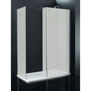 Milano Frosted Beka Walk In 8mm Shower Enclosure 1500 x 760