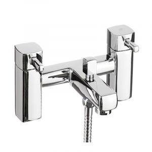 Serie Quadro Bath Shower Mixer Chrome