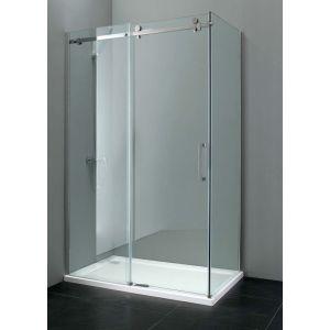 Sevilla Frameless 8mm Sliding Door 1200mm Easy Clean Glass