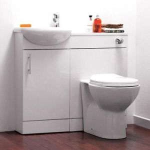 Sienna Bathroom Furniture Vanity Pack inc Toilet