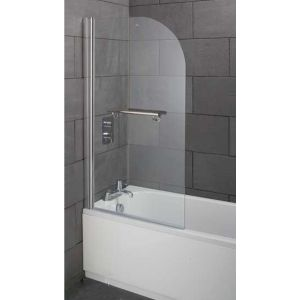 Style Single Bath screen Inc Handle 800X1400