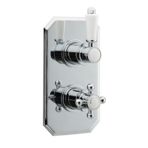 Twin Concealed Thermostatic Shower Valve