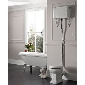 Victorian High Level Traditional WC Toilet