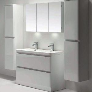 Zen Basin 1200mm White Gloss Floor Standing